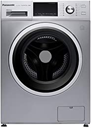 Panasonic 12 Kg Wash & 8 Kg Dry,1400 RPM Front Load Washer Dryer, NAS128M2L, Silver,1 Yr Warr
