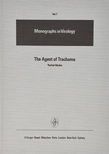 Monographs in Virology / The Agent of Trachoma: Recent Studies of the Biology, Biochemistry and Immunology of a Prokaryotic Obligate Parasite of Eukaryocytes. (Monographs in Virology ; Vol. 7, Band 7)