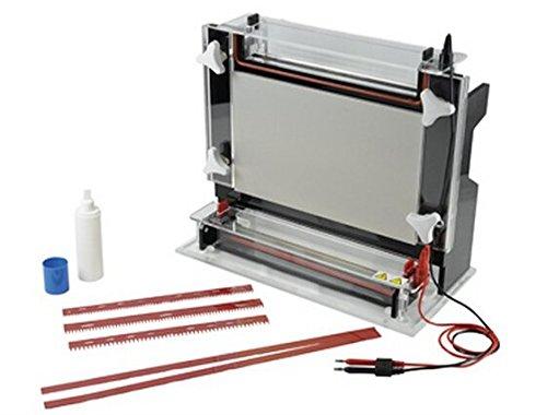 Gowe Horizontal Elektrophorese Tank DNA nukleinsäure-Reinigung und Vorbereitung Glasplatte Größe: 350* 350