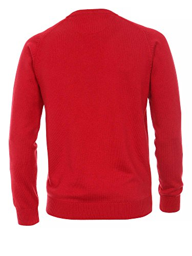 CASAMODA Pull-over Col ras du cou Manches longues Homme Fraise