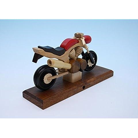 Incense le montagne di öre del MX 27cm di Seiffen dell'uomo di incenso della bici dell'Motore-incrocio del motociclo NUOVE