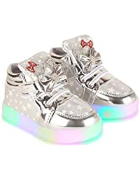 Passion Petals Baby Toddler/Little Girl Led Light Star Light Shoes - Grey …