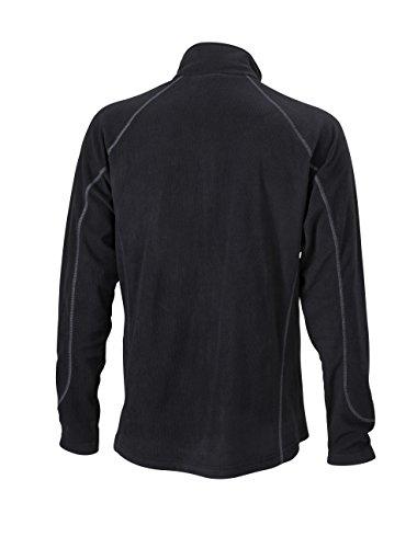 Men's Structure Fleece Jacket Black/Carbon