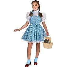 Disfraz de Dorothy de El Mago de Oz, de Rubies, para niños pequeños,