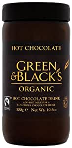 Green and Black's Organic Hot Chocolate 300 g (Pack of 3)