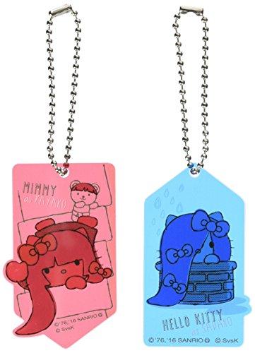 Sadako vs Gaya palm × HELLO KITTY acrylic key chain set