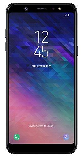 Samsung Galaxy A6 Plus Smartphone, 15,36 cm (6 Zoll), 32 GB Interner Speicher und 3 GB RAM, black - Deutsche Version