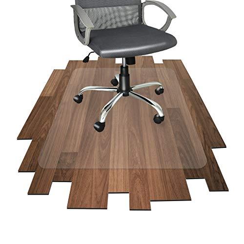 Floordirekt PRO Office Bodenschutzmatte, Hard Floor Schutz-100% Polycarbonat, Polycarbonat, Transparent, 90 cm x 120 cm