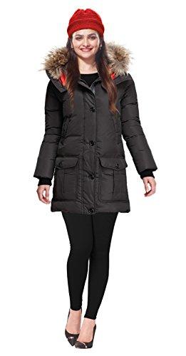 Lux Lyra Women\'s Black Winter Leggings