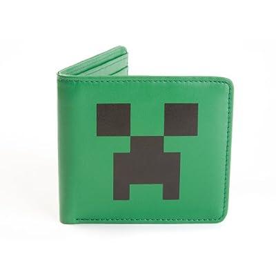 Minecraft enredadera cara billetera de cuero