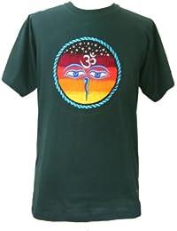 Brodé classique Katmandou T-shirt, Fair Trade, coton vendu par One World is Enough.