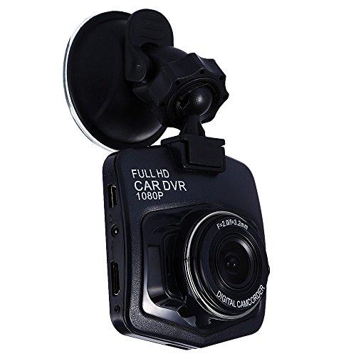 HKANG PA® Q20 Dash Cam - Volle 1080p HD Auto-Instrumentenkamera DVR - Betrachtungswinkel von 170 ° - Nachtsicht Anti-Shake Unendliche Ringaufnahme, Autokamera-Recorder