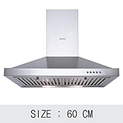 Elica Pyramid Plus BF Chimney (60 cm, 875 m/hr, Stainless Steel)