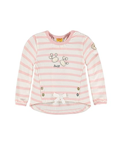Steiff Collection Mädchen Sweatshirt Sweatshirt 1/1 Arm, Gr. 68, Rosa (peach skin 2058)