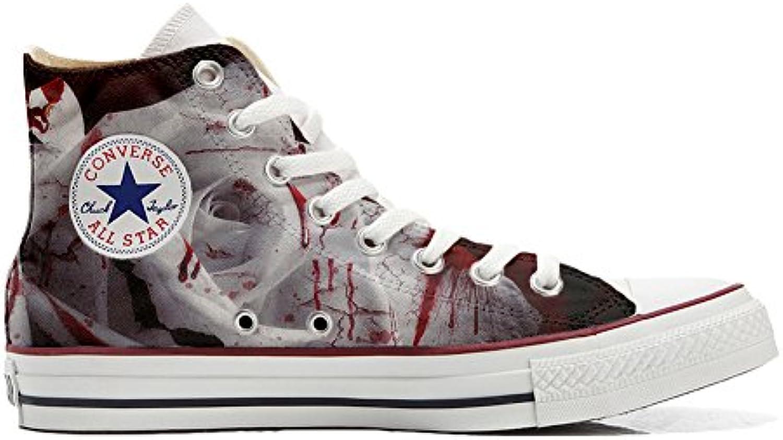 Converse All Star Zapatos Personalizados Unisex (Producto Handmade) Tiger Style -
