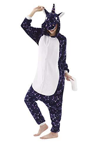 Dolamen Enfant Kigurumi Combinaison Pyjama Onesies, Fille Garçon Fleece Anime Cosplay Halloween...