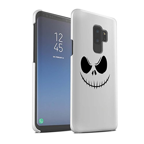 Stuff4® Glanz Snap-On Hülle/Case für Samsung Galaxy S9 Plus/G965 / Jack Skellington Inspiriert Kunst Muster/Grusel Filmkunst Kollektion