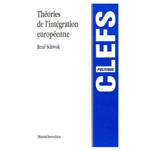 Théories de l'intégration européenne : Approches, concepts et débats