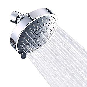 La ducha de mano puede ahorrar un 40/% de agua con 2 arandelas cromo alcachofa de ducha/de alta presi/ón Cabezal de ducha/&manguera de 2 m 2m Alcachofa ducha alcachofa ducha con manguera