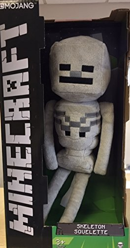Minecraft 13-inch Official Skeleton Plush Toy Figure