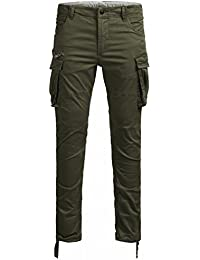 Jack & Jones Jjipaul Jjchop Ww Olive Night Noos, Pantalon Homme