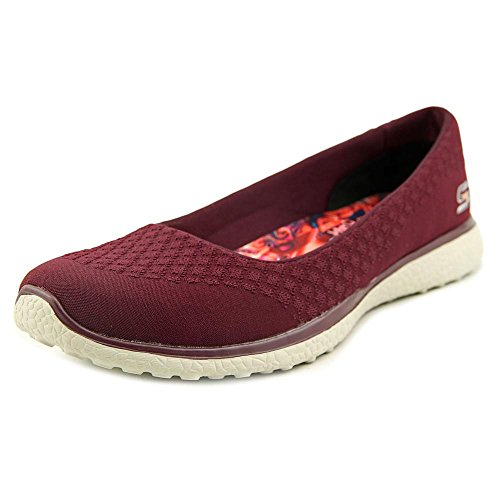Skechers Microburst-One-Up Donna US 10 Rosso Mocassini