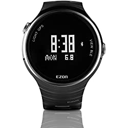 EZON G1 Smart Watches for Men Sports Watch with Bluetooth GPS Waterproof Wristwatch