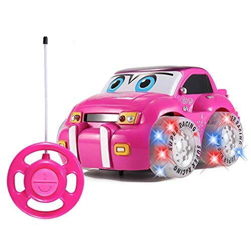 Kaiaki Erstes RC Auto für Mädchen | Rosa lila Fernbedienung 2ch Renner Fahrzeug für Kinder,Pink