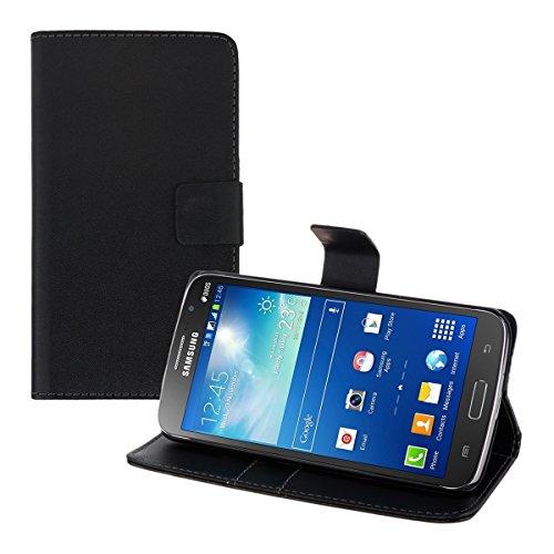 kwmobile Samsung Galaxy Grand 2 G7105 Hülle - Kunstleder Wallet Case für Samsung Galaxy Grand 2 G7105 mit Kartenfächern und Stand