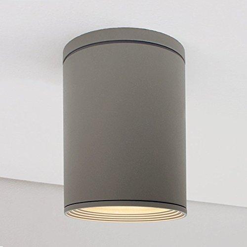 LED Leuchte Deckenleuchte LILY E27 FASSUNG IP54 Aussenleuchte Außenlampe Deckenstrahler Gartenleuchte Flurleuchte 230V - 2