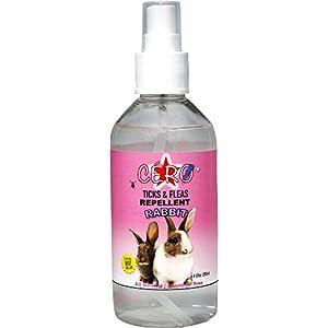 CERO 100% Natural Ticks, Fleas & Mites Repellent Spray for Rabbit (200ml)