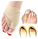 #4: SKUDGEAR Pack of 2 Bunion Correction Toe Separator With Support (Pair)