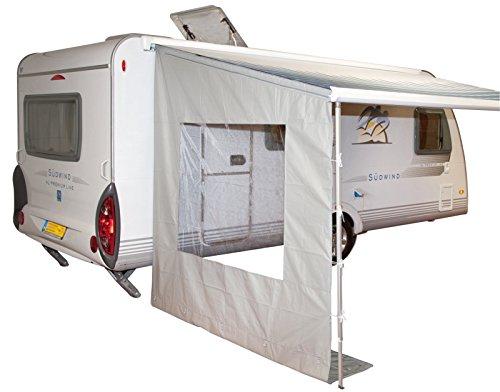 Bo-Camp Seitenwand Vorzelt Wohnwagen Vordach Markise Seitenteil Omnistor Passend (Wohnwagen Markisen)