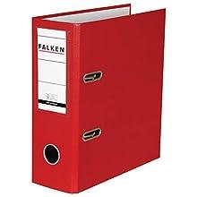 Falken Folder Special Formats for DIN A5 Portrait High Wide red
