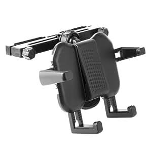 Fixation support réglable d'appui tête voiture pour LeapFrog LeapPad 3x (81500) & Xdi Ultra tablette tactile / jeu électronique enfant - par DURAGADGET