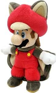 Figurine 'Nintendo' - Peluche Mario écureuil volant - 21cm