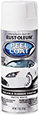 Rust-Oleum 276800 Automotive Peel Coat Spray Paint (312 g, Matte White)