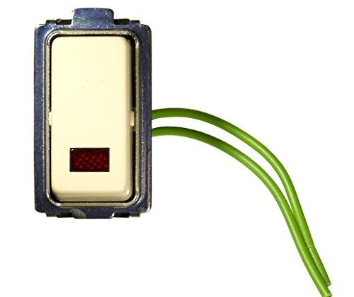 FEB 2013 Deviatore Unipolare Luminoso 10A, Avorio