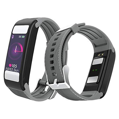 Quiet.T Smartwatch Wasserdicht T9 Smart Watch Sport Uhr Fitness Tracker,Schrittzähler Uhr,Schlaftracker,Stoppuhr Für Herren Damen Vibrationsalarm Anruf SMS Whatsapp Beachten Für iPhone Android Handy