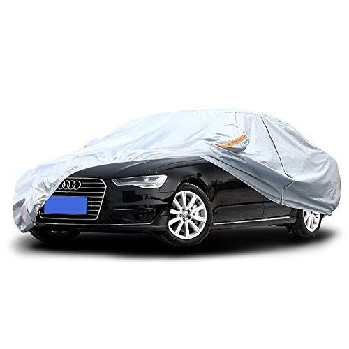 GLP Couverture de voiture est pour Langyi Yinglang Xuanyi Carlo Sagitar BMW série 3 Langdong et autres véhicules à moteur, feuille d'aluminium Housse de protection pour UV Rain Snow (Color : Silver)