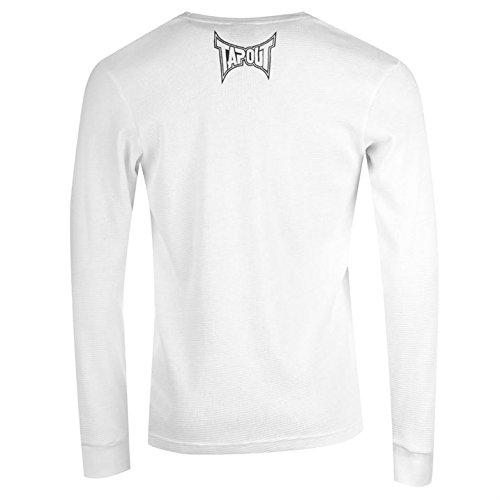 Tapout Herren Langarmshirt Weiß