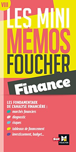 Les mini memos Foucher - Finance par Pierre Astolfi