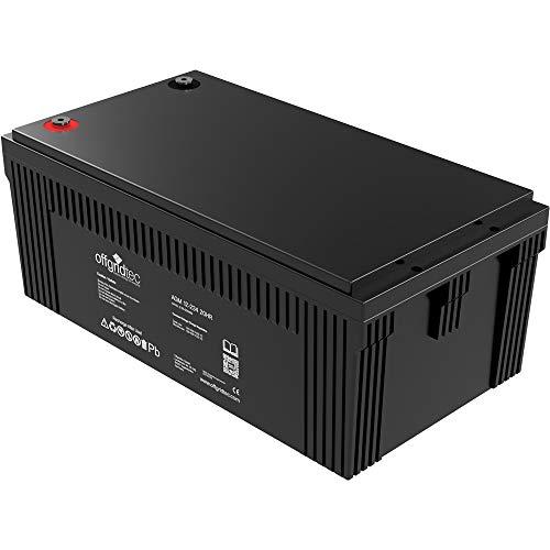 Offgridtec® AGM 234Ah 20HR 12V - Solar Batterie Akku Extrem zyklenfest