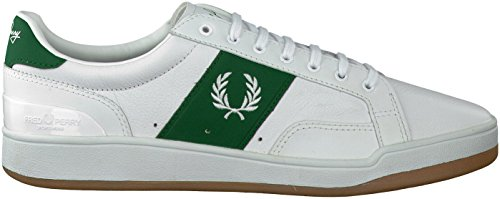 Fred Perry Sturgess Leather Sports Aut White 41