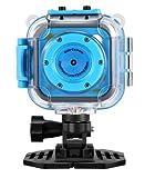 "Kids Waterproof Digital Camera,CamKing CD-BL 1.77"" LCD Screen Kids Digital Camera with Wifi"