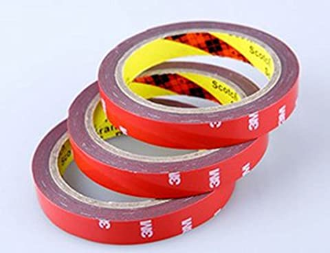 ewinever(TM) 3pcs 3m Double Sides Foam Faced Adhesive Tape