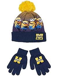Amazon.fr   les minions - Packs bonnet, écharpe et gants ... e763ce7608b