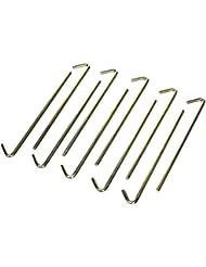 High Peak Stahl-Erdnagel Standard Set de piquets Or 180 x 5 mm