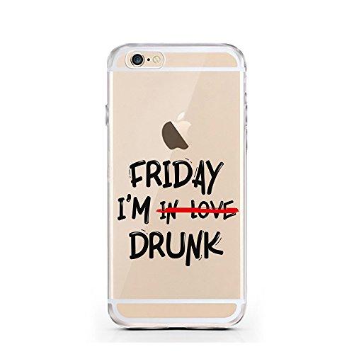 iPhone 6 6S cas par licaso® pour le modèle Let's Avocuddle Avocat Câlins TPU 6 Apple iPhone 6S silicone ultra-mince Protégez votre iPhone 6 est élégant et couverture voiture cadeau Firday I'm Drunk