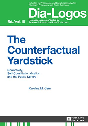 The Counterfactual Yardstick: Normativity, Self-Constitutionalisation and the Public Sphere (DIA-LOGOS Book 18) (English Edition)